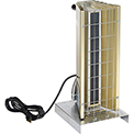 TPI Fostoria Infrared Heater W/Cord & Plug FSP-1412-1C Portable Electric 1.45 kW 120V