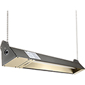 TPI Indoor/Outdoor Quartz Electric Infrared Heater OCH-46-120VE 120V 1500W - Brown