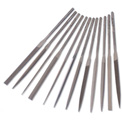 "Import 12 Piece Needle File Set Length: 5.5"", Cut 3, No. of Pieces: 12"