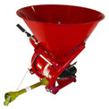 Tarter Farm & Ranch 3-Point Fertilizer Spreader-Metal Tub FS - Red