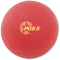 "Champion Sports PG85 Playground Ball, 8-1/2"", Red"