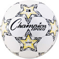 Champion Sports VIPER3 VIPER Soccer Ball, Size 3, White