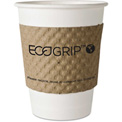 Eco-Products® EcoGrip Recycled Content Hot Cup Sleeve, Kraft, 1300/Ctn
