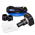 AmScope MU500-CK 5MP USB2.0 Microscope Digital Camera & Calibration Kit