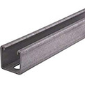 "Unistrut 1-5/8"" X 7/8"" X 10 Ft Metal Channel P3300t10pg, 12 Gauge, Slotted - Pkg Qty 10"