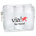 Promotional Stopover Set With Empty Amenity Bottles