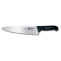 "Victorinox 10 Chefs Knife, Radius Blade, Blunt Tip For Safety, 2.25"" Wide, Black Fibrox Handle"