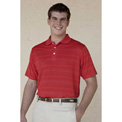 Vansport™ Three-Color Textured Stripe Polo