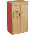 Wood Designs™ Strawberry Red Refrigerator