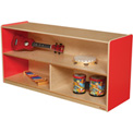 "Wood Designs™ Strawberry Red Versatile Storage Unit, 24""H"