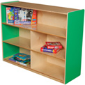 "Wood Designs™ Green Apple Versatile Storage Unit, 36""H"