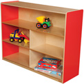 "Wood Designs™ Strawberry Red Versatile Storage Unit, 36""H"