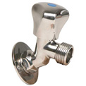 "Whitecap 3/4"" GHT x 1/2"" IPT Raw Water Washdown Sillcock, Stainless Steel - P-2456"