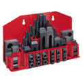 "JET® 52-pc Clamping Kit w/ Tray for 5/8"" T-slot"