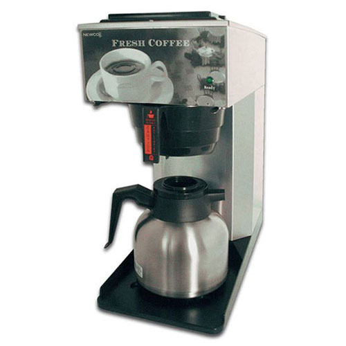 "Newco 101767 AK-TC Coffee Brewer, Pour Over, Thermal Carafe, 120V, 8-1/2""W x 17-3/4""D x 17-5/8""H by"