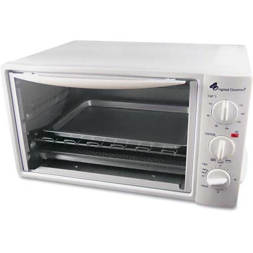 """Coffee Pro Toaster Oven, 10""""L x 15""""W, White by"""