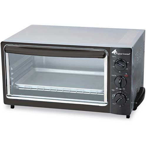 """Coffee Pro Toaster Oven, 10""""L x 15""""W, Black by"""