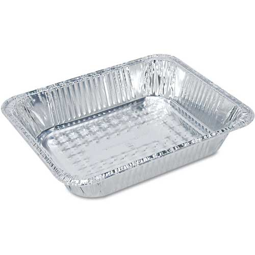Boardwalk Full Size Steam Table Pan, Deep, Aluminum by
