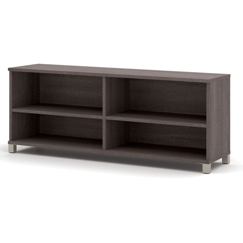 "Bestar Credenza -71"" Bark Grey Pro-Linea Series by"