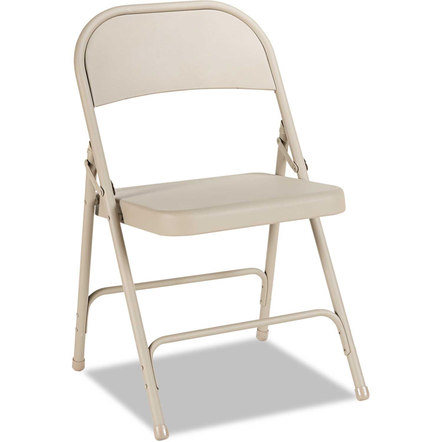 Alera Steel Folding Chair Tan 4/Carton by
