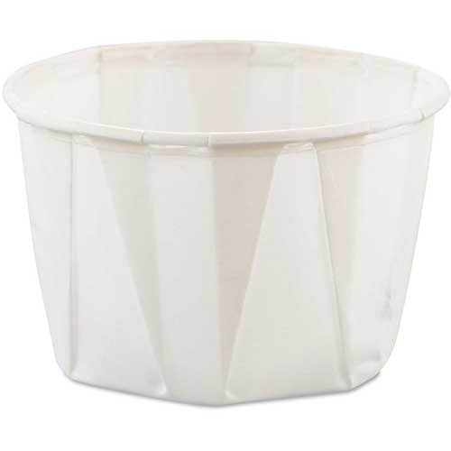 Paper Pleated Souffle Cups by