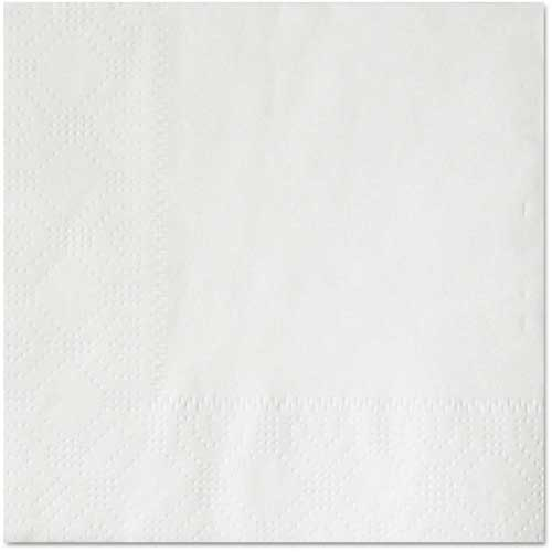 "Boardwalk Cocktail Napkins, 2-Ply, 10"" x 10"", White, Qty. 1000 by"