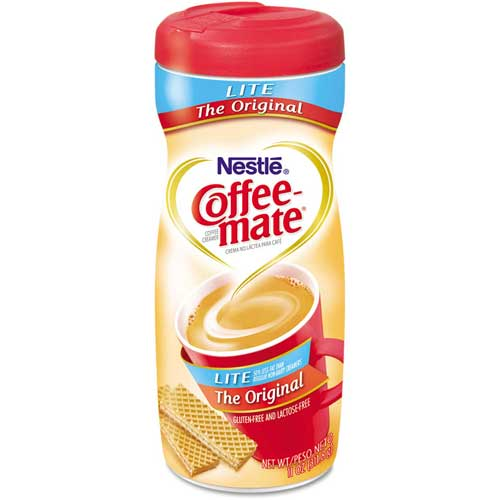 Coffee-Mate Flavored Creamer, Lite, 11 Oz by