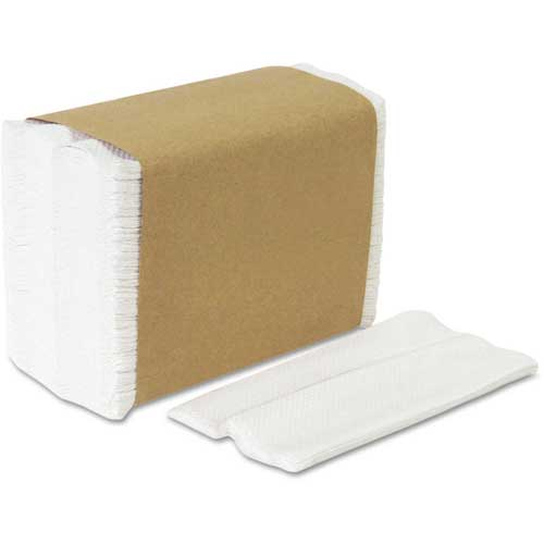 Georgia Pacific GEP33201 Acclaim HYNAP Tall Fold Dispenser Napkins, White, 10,000/Carton by