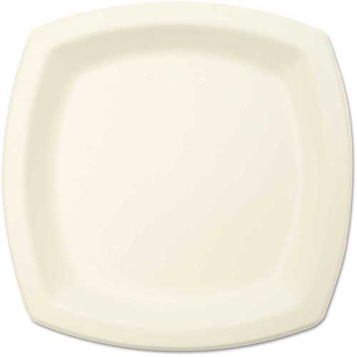 """SOLO Cup Company Bare Eco-Forward Dinnerware, 6"""" Plate, Ivory. 125/Pack by"""