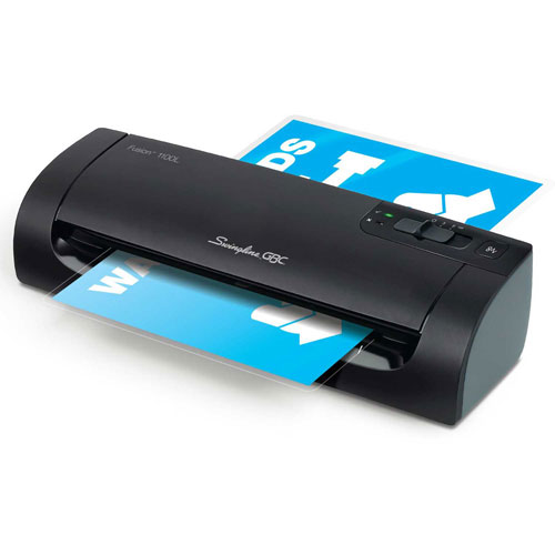 "Buy Swingline GBC Fusion 1100L 9"" Laminator, 4 Minute Warm-up, 3 or 5 Mil, 13""/minute Package Count 2"