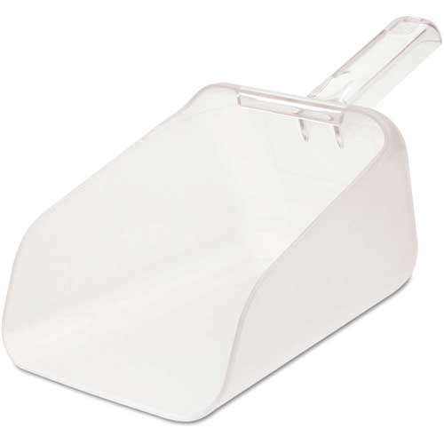 Rubbermaid Commercial FG9F7600CLR Bouncer Contour Scoop, 64 Oz. Capacity Package Count 6 by