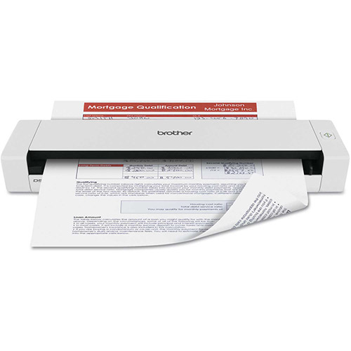 Buy Brother DS720D Mobile Scanner with Duplex, 600 x 600 dpi