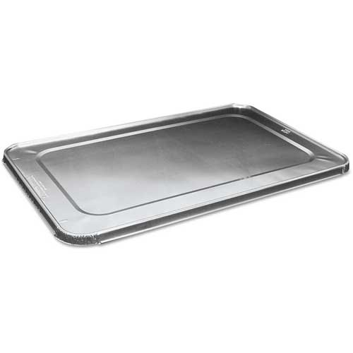 Full Size Steam Table Pan Lid, Aluminum, 50 ct by