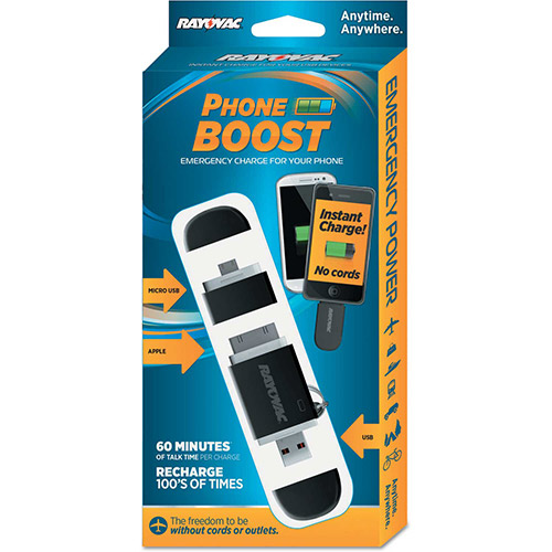 Buy Rayovac Phone Boost Key Chain Charger, Cell Phones/Cameras/Mobile Devices