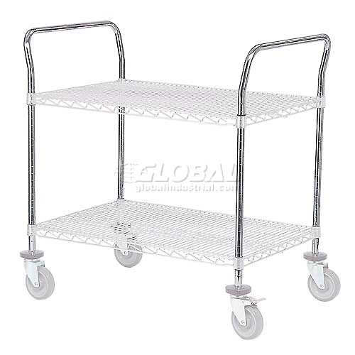 18 Inch Utility Cart Handle (Priced Each, In A Package Of 2) Package Count 2 by