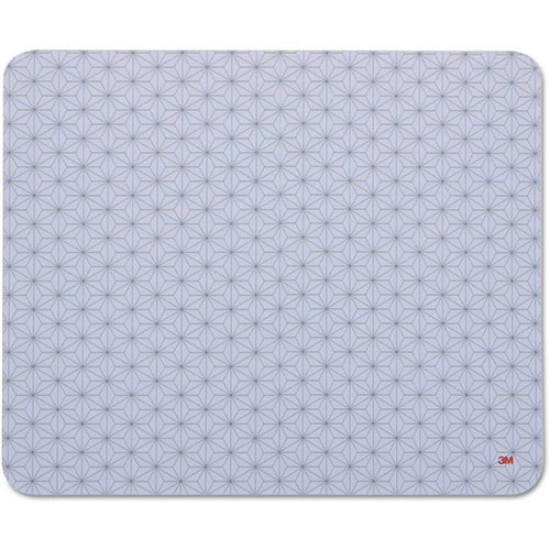 3M Precise Mouse Pad, Nonskid Repositionable Adhesive Back,8 1/2 x 7,Gray Frostbyte by