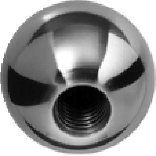J.W. Winco BK Steel Ball Knobs Tapped 19.1mm Diameter mm Length 10-32 by
