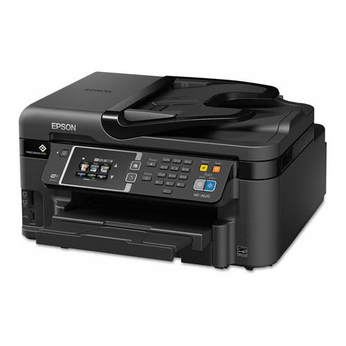 Buy WorkForce 3620 Wireless All-in-One Inkjet Printer, Copy/Fax/Print/Scan