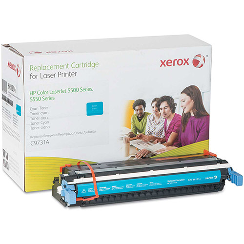 Buy Xerox 6R1314 Compatible Remanufactured Toner, 12800 Page-Yield, Cyan