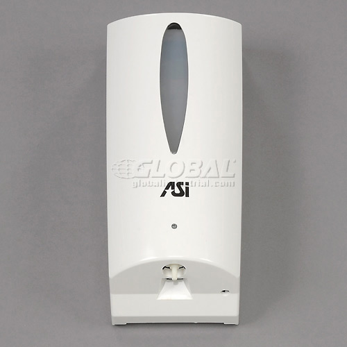ASI Automatic Soap Dispenser White Plastic 0361 by