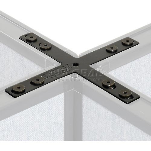 4 Way Connector Kit For Office Partitions by