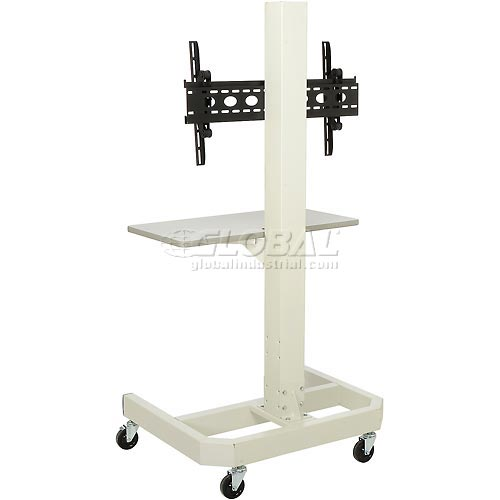 LCD/Plasma Mobile Cart Beige by