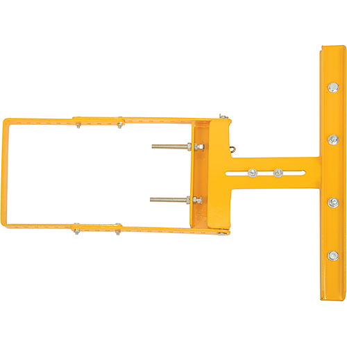 "Spring-Loaded Safety Gate 16""-26""W Opening Yellow by"