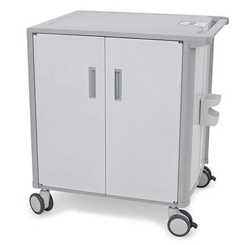 Buy Ergotron StyleView Transfer Cart with 36 Shelves and Scanner Cup, White/Gray
