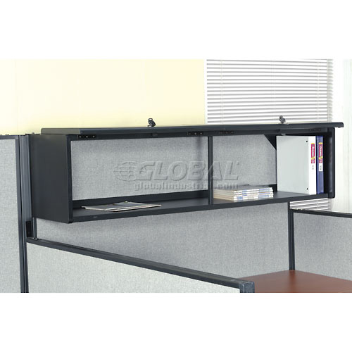 "60"" Overhead Cabinet In Black by"