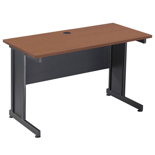 """Click here to buy Interion 72"""" Desk Cherry."""