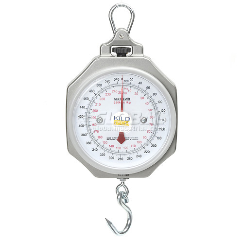 """Hanging Scale 540 x 2lb / 250 x 1kg 7-1/2"""" Dial With Hook by"""