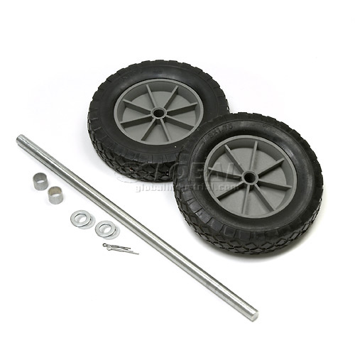 """Universal Mold-On 8"""" Rubber Hand Truck Wheel Kit  by"""