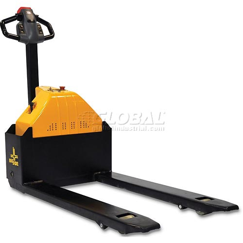 Click here to buy Big Joe E30 Electric Power Pallet Jack Truck 3000 Lb. Capacity.