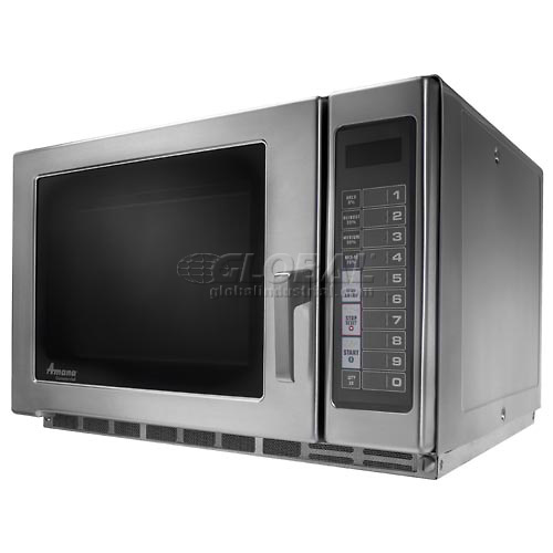Amana RFS12TS Microwave, 1.2 Cu. Ft., 1200 Watt, Keypad, Heavy Duty Commercial  by